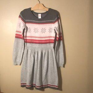 Gymboree sweater dress girls size 12